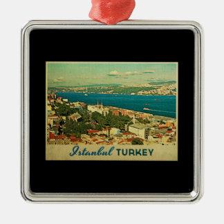 Vintage Istanbul Turkey Christmas Ornament