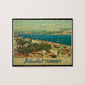 Vintage Istanbul Turkey Jigsaw Puzzle