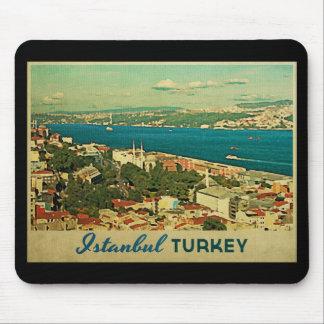 Vintage Istanbul Turkey Mouse Mat