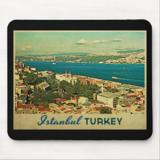 Vintage Istanbul Turkey Mousepad