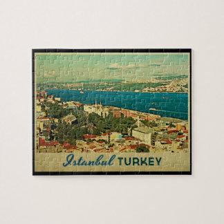 Vintage Istanbul Turkey Puzzle