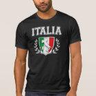 Vintage ITALIA Flag Crest T-Shirt