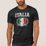 Vintage ITALIA Flag Crest Tshirts