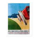 Vintage Italian 1920s Racing cars Grand Prix Post Cards