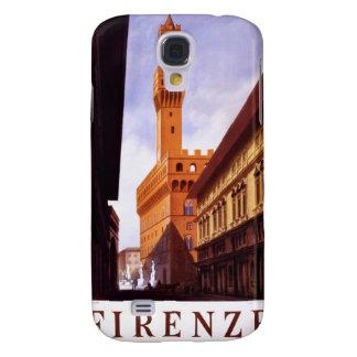 Vintage Italian Tourism Poster Scene Galaxy S4 Case