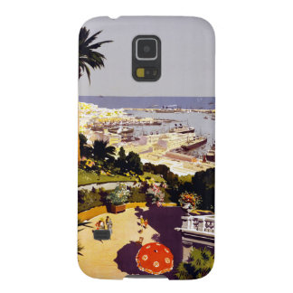Vintage Italian Tourism Poster Scene Galaxy S5 Cover