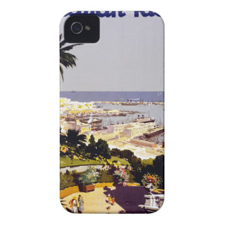 Vintage Italian Tourism Poster Scene iPhone 4 Cover