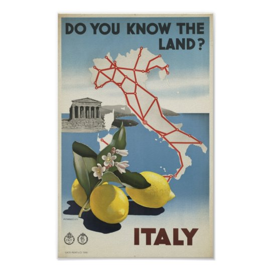 Vintage Italy Do you know the land travel