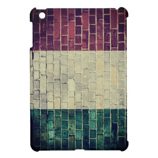 Vintage Italy flag Cover For The iPad Mini