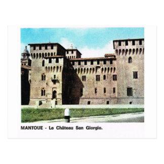 Vintage Italy,   Mantova, Castle of St George Postcard