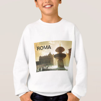 Vintage Italy, Rome, Vatican, St Peter's Sweatshirt