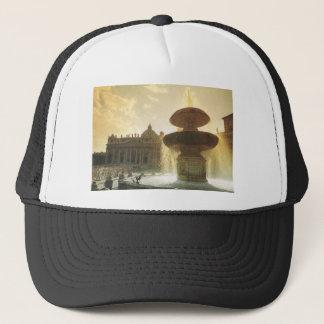 Vintage Italy, Rome, Vatican, St Peter's Trucker Hat