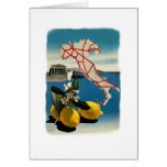 Vintage Italy Travel Greeting Cards