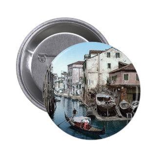 Vintage Italy Venice  1890's Button
