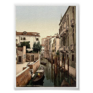 Vintage Italy  Venice Poster