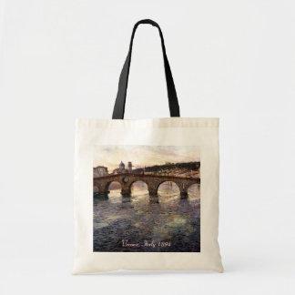 Vintage Italy (Verona, Circa 1894) Budget Tote Bag