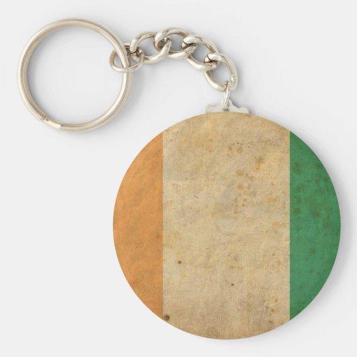 Vintage Ivory Coast Key Chains