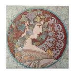 Vintage Ivy Goddess Tiles