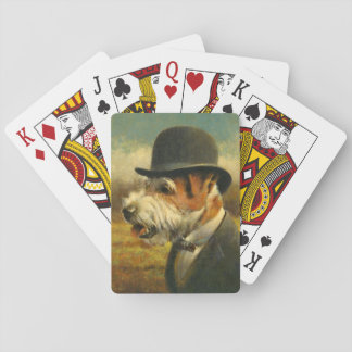 Vintage Jack Russell Playing Card