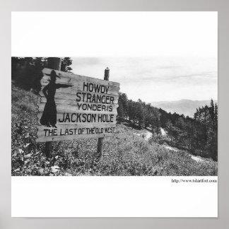 Vintage Jackson Hole Poster