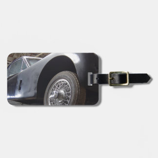 Vintage Jaguar L XK 140 1952 Luggage Tag