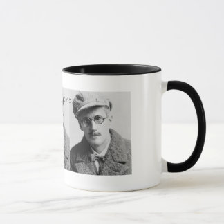 Vintage James Joyce Portrait Mug
