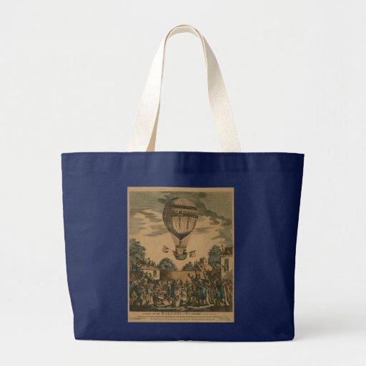 Vintage James Sadler Hot Air Ballon Bag