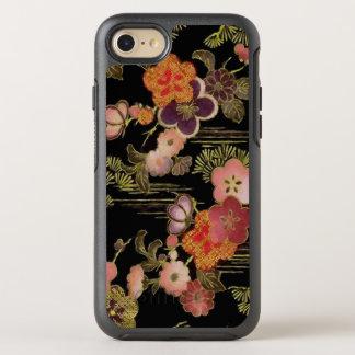 Vintage Japan Black Floral OtterBox Symmetry iPhone 8/7 Case