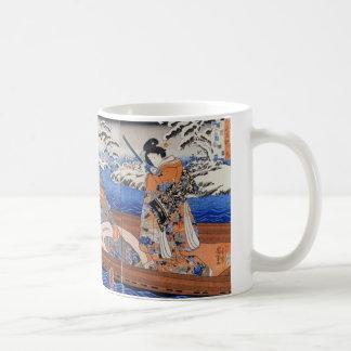 Vintage Japanese Art 1800's Mug