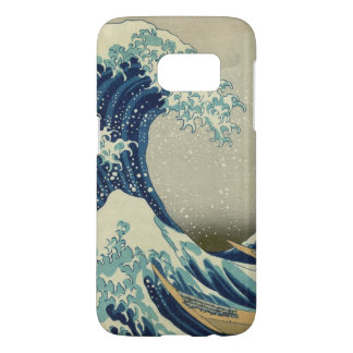 Vintage Japanese Art, The Great Wave by Hokusai