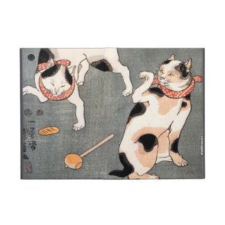 Vintage Japanese Cat Art iPad Mini Cover