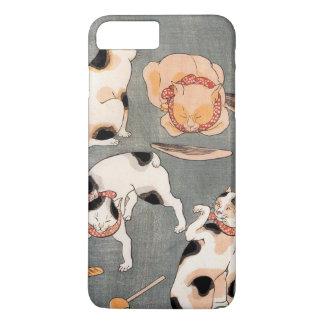 Vintage Japanese Cat Art iPhone 8 Plus/7 Plus Case