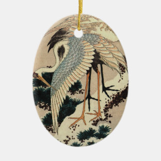 Vintage Japanese Crane Ornament