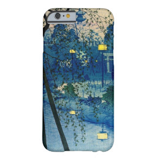 Vintage Japanese Evening in Blue iPhone 6 Case