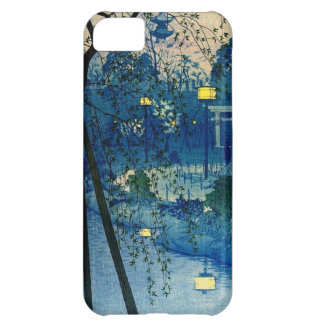Vintage Japanese Evening in Blue iPhone 5C Case