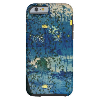 Vintage Japanese Evening in Blue Tough iPhone 6 Case