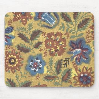 Vintage Japanese Fabric Art 1 Mouse Pad