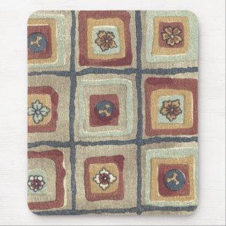 Vintage Japanese Fabric Art 5 Mouse Pad