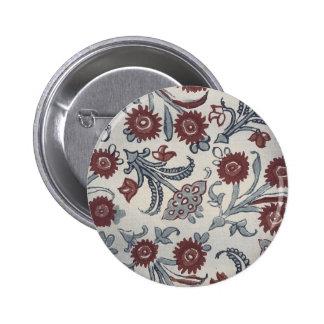 Vintage Japanese Fabric Art Gifts 6 Cm Round Badge