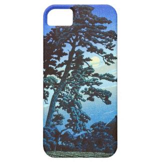 Vintage Japanese Farm w/Tree Woodblock Art Ukiyo-e Barely There iPhone 5 Case