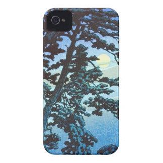 Vintage Japanese Farm w/Tree Woodblock Art Ukiyo-e iPhone 4 Case