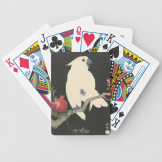 Vintage Japanese Fine Art | Cockatoo Bicycle Playing Cards