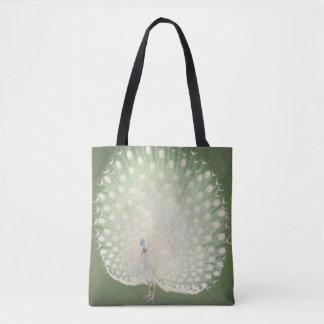 Vintage Japanese Fine Art | Peacock Tote Bag