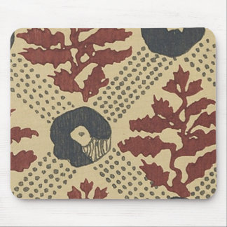 Vintage Japanese Floral Fabric 145 Mouse Mats