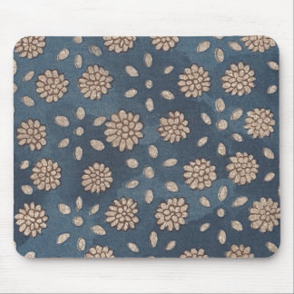 Vintage Japanese Floral Fabric 147 Mouse Pad