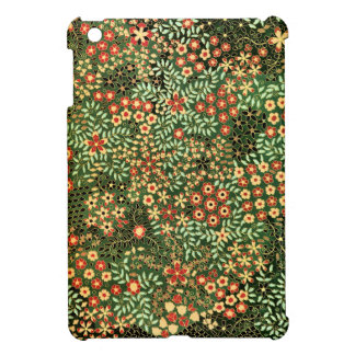 Vintage Japanese Floral Pattern Cover For The iPad Mini