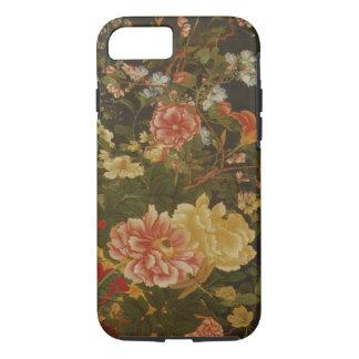 Vintage Japanese Floral Print iPhone 7 Case