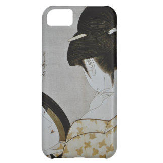 Vintage Japanese Geisha Girl Art iPhone 5C Case