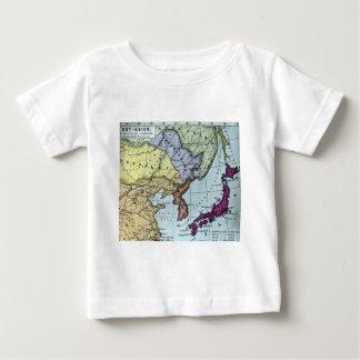 Vintage Japanese Hand Tinted Map 日本 Infant T-Shirt