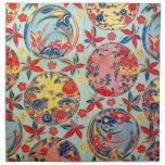 Vintage Japanese Kimono Textile (Bingata)